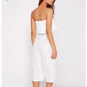White romper/jumpsuit